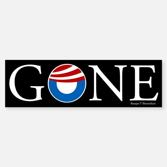 Gone Sticker (Bumper 10 pk)