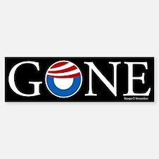 Gone Car Car Sticker