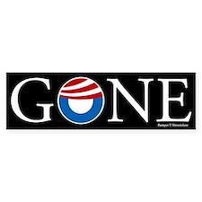 Gone Car Sticker