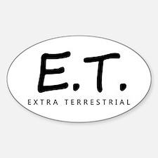 'Extra Terrestrial' Decal