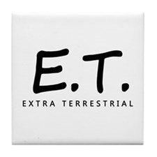 'Extra Terrestrial' Tile Coaster