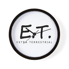 'Extra Terrestrial' Wall Clock