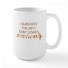 I Survived Earthquake Mug