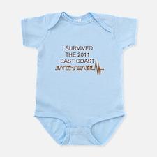 I Survived Earthquake Infant Bodysuit