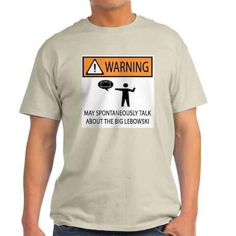 Talks About the Big Lebowski Light T-Shirt