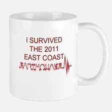 I Survived Earthquake Mug