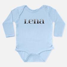 Lena Carved Metal Onesie Romper Suit