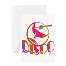 Disco Martini / Greeting Card