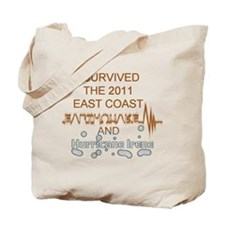 I Survived Earthquake and Hur Tote Bag