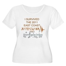 I Survived Earthquake and Hur T-Shirt