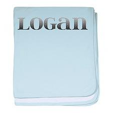 Logan Carved Metal baby blanket