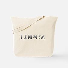 Lopez Carved Metal Tote Bag