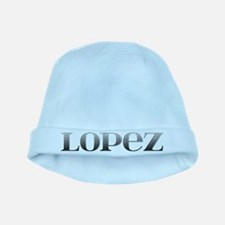 Lopez Carved Metal baby hat