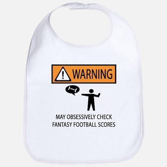 Checks Fantasy Football Scores Bib