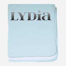 Lydia Carved Metal baby blanket