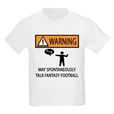 Talks About Fantasy Football T-Shirt