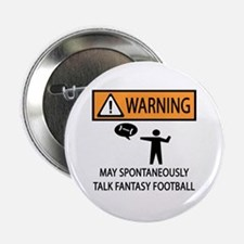 """Talks About Fantasy Football 2.25"""" Button"""