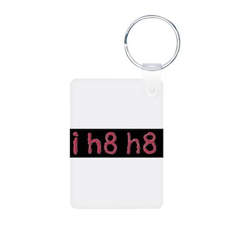 i h8 h8 Aluminum Photo Keychain
