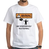 Professional football teams Mens White T-shirts