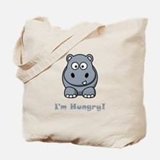I'm Hungry Hippo Tote Bag