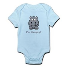 I'm Hungry Hippo Infant Bodysuit
