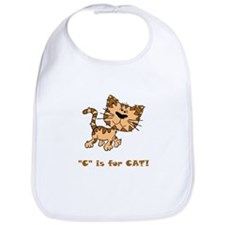C Is For Cat Bib