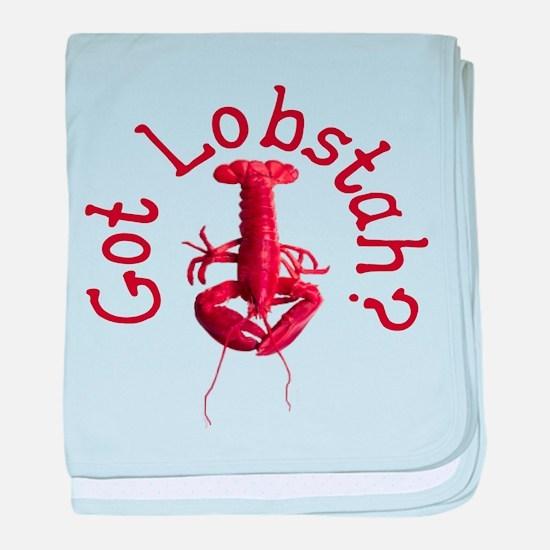 Got Lobstah? baby blanket