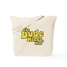 The Big Lebowski The Dude Minds Man Tote Bag
