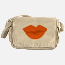 BIG ORANGE Kiss Messenger Bag