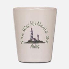 Maine State Motto Shot Glass