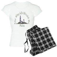 Maine State Motto Pajamas