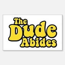 The Dude Abides The Big Lebowski Bumper Stickers