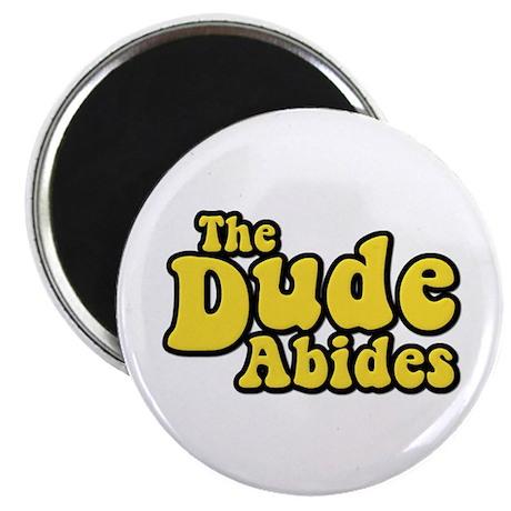 The Dude Abides The Big Lebowski Magnet