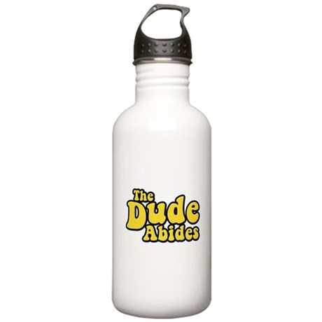 The Dude Abides The Big Lebowski Stainless Water B
