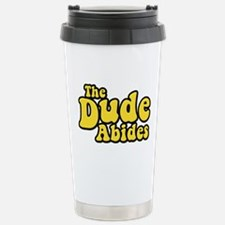 The Dude Abides The Big Lebowski Stainless Steel T