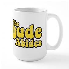 The Dude Abides The Big Lebowski Mug