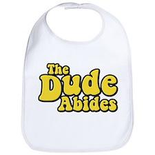 The Dude Abides The Big Lebowski Bib