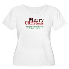Offensive Merry Christmas T-Shirt