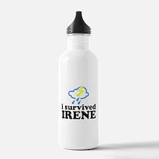 I Survived Irene Water Bottle