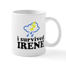 I Survived Irene Small Mug