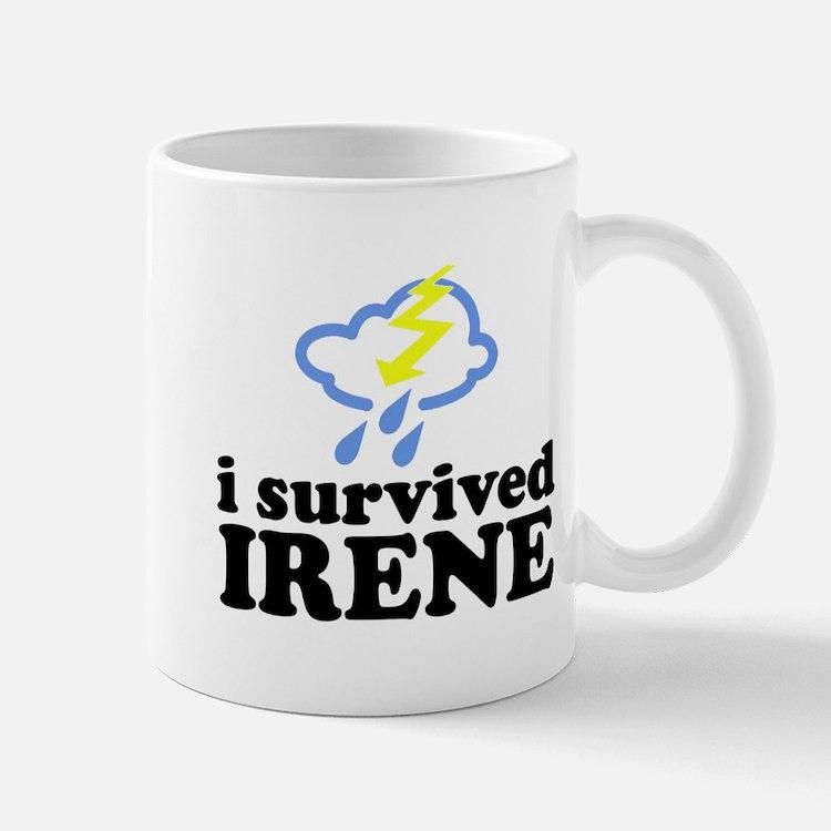 I Survived Irene Small Small Mug