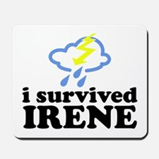 I Survived Irene Mousepad