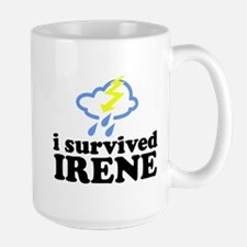 I Survived Irene Large Mug
