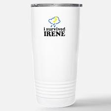 I Survived Irene Travel Mug