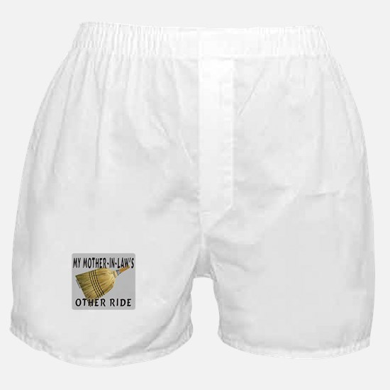MOTHER-IN-LAW'S OTHER RIDE Boxer Shorts