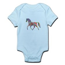Horse Of Many Colors Infant Bodysuit