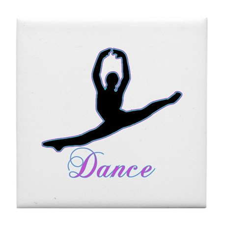 Dancers Gifts Tile Coaster