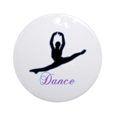Dancers Gifts Ornament (Round)