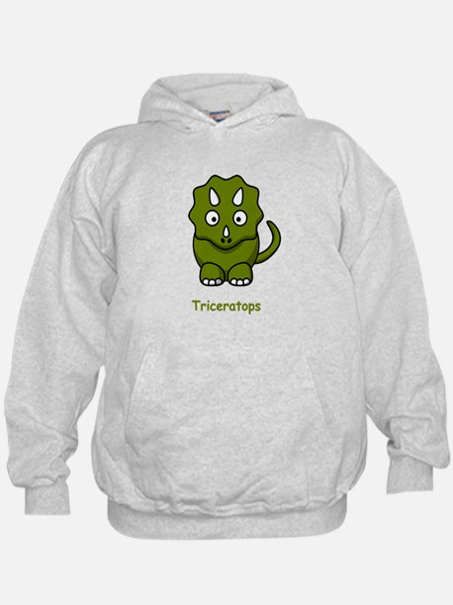 Cartoon Triceratops Hoody