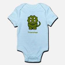 Cartoon Triceratops Infant Bodysuit